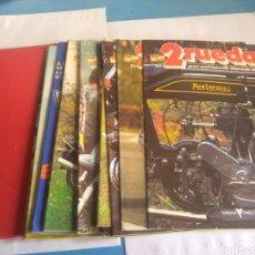 Coches y Motocicletas: 2 RUEDAS GRAN ENCICLOPEDIA ILUSTRADA DE LA MOTO, AÑOS 80. Lote 162551750