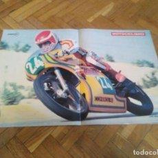 Cars and Motorcycles - POSTER REVISTA MOCOCICLISMO AÑO 1978. LUIS MIGUEL REYES. MEDIDAS 42,50X27,50 CM ARPOX. - 163492498