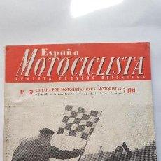 Coches y Motocicletas: ESPAÑA MOTOCICLISTA - Nº 62 (DICIEMBRE 1956)- OSSA 125. Lote 163553426