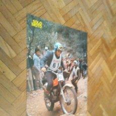 Coches y Motocicletas: POSTER REVISTA SOLO MOTO ACTUAL AÑO 1976. JAIME SUBIRA. MONTESA. MEDIDAS 30X45 APROX.. Lote 163576798