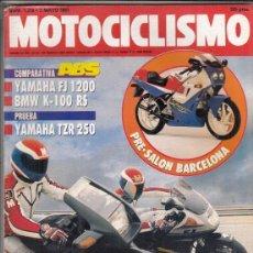 Coches y Motocicletas: REVISTA MOTOCICLISMO Nº 1210 AÑO 1991. PRU: YAMAHA TZR 250. TM 125 ENDURO. COMP: YAMAHA FJ 1200 ABS . Lote 164197750