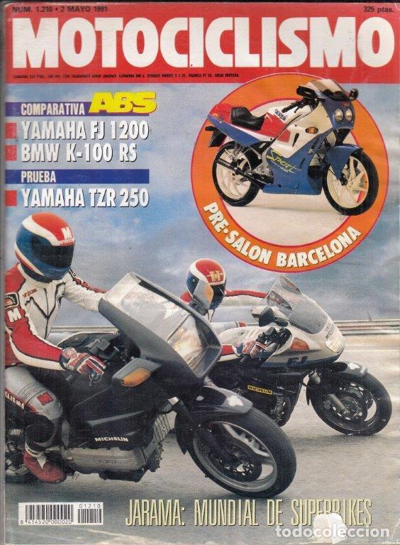 REVISTA MOTOCICLISMO Nº 1210 AÑO 1991. PRUEBA: YAMAHA TZR 250.TM 125 ENDURO.COMP: YAMAHA FJ 1200 ABS (Coches y Motocicletas - Revistas de Motos y Motocicletas)