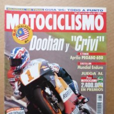 Coches y Motocicletas: MOTOCICLISMO 1415 APRILIA PEGASO 650 HONDA SHADOW 1100 KAWASAKI VULCAN 800 SUZUKI INTRUDER 600. Lote 164474622