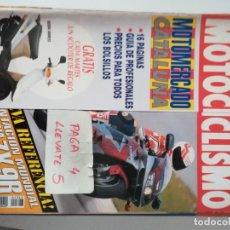 Coches y Motocicletas: REVISTA MOTOCICLISMO 1347 * KAWASAKI ZX 9R + BMW K 1100 RS + HONDA RC-45 * 65. Lote 164513198