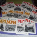 Coches y Motocicletas: M P H - THE JOURNAL OF THE VINCENT-HRD OWNERS CLUB - 1990-1995 - 19 EJEMPLARES. Lote 164652514