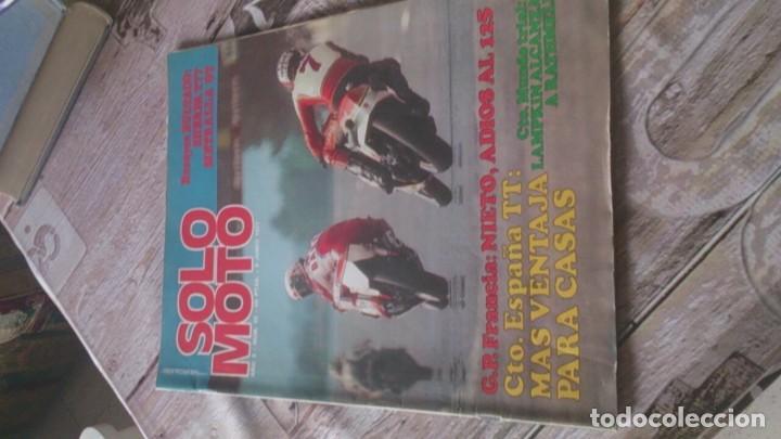 SOLO MOTO N 92 DE 1977 (Coches y Motocicletas - Revistas de Motos y Motocicletas)