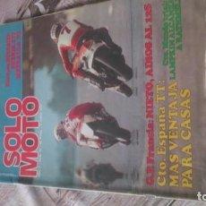 Coches y Motocicletas: SOLO MOTO N 92 DE 1977. Lote 164886554
