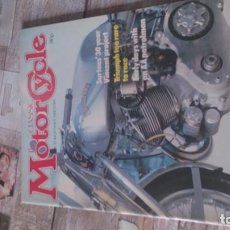 Coches y Motocicletas: REVISTA MOTOR CYCLE 1981. Lote 164888706