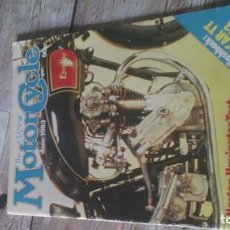 Coches y Motocicletas: REVISTA MOTOR CYCLE 1983. Lote 164888942