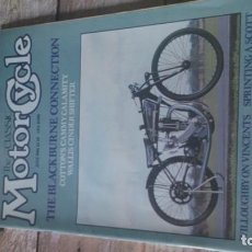 Coches y Motocicletas: REVISTA MOTOR CYCLE 1986. Lote 164889050
