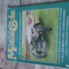 Coches y Motocicletas: REVISTA MOTOR CYCLE 1987. Lote 164889242