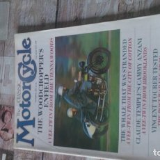 Coches y Motocicletas: REVISTA MOTOR CYCLE 1987. Lote 164889318