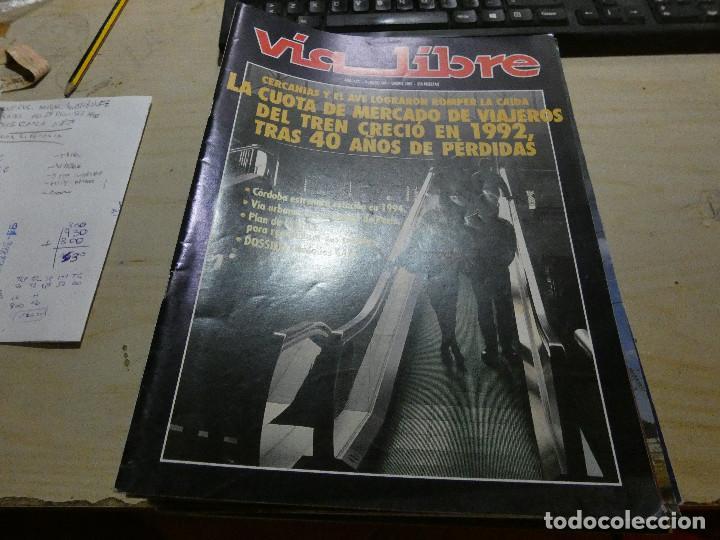 REVISTA EN MUY BUEN ESTADO VIA LIBRE NUMERO 348 (Coches y Motocicletas - Revistas de Motos y Motocicletas)