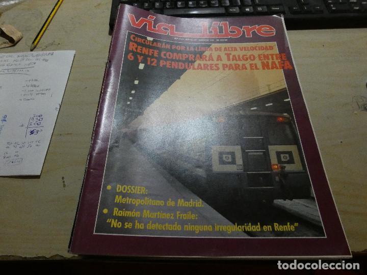 REVISTA EN MUY BUEN ESTADO VIA LIBRE NUMERO 334 (Coches y Motocicletas - Revistas de Motos y Motocicletas)