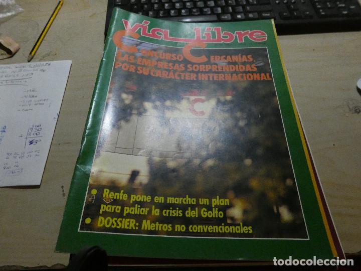 REVISTA EN MUY BUEN ESTADO VIA LIBRE NUMERO 318 (Coches y Motocicletas - Revistas de Motos y Motocicletas)