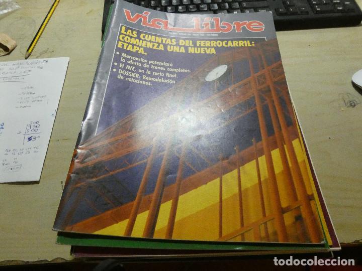 REVISTA EN MUY BUEN ESTADO VIA LIBRE NUMERO 336 (Coches y Motocicletas - Revistas de Motos y Motocicletas)