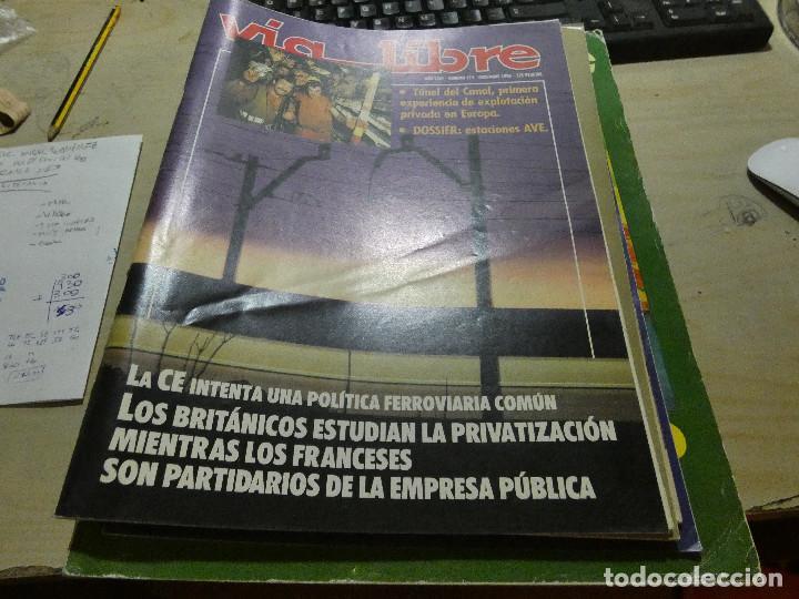 REVISTA EN MUY BUEN ESTADO VIA LIBRE NUMERO 323 (Coches y Motocicletas - Revistas de Motos y Motocicletas)