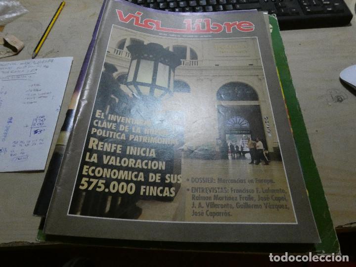 REVISTA EN MUY BUEN ESTADO VIA LIBRE NUMERO 350 (Coches y Motocicletas - Revistas de Motos y Motocicletas)