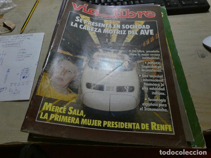 REVISTA EN MUY BUEN ESTADO VIA LIBRE NUMERO 328 (Coches y Motocicletas - Revistas de Motos y Motocicletas)