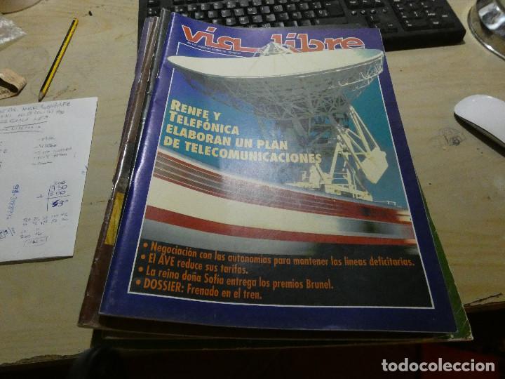 REVISTA EN MUY BUEN ESTADO VIA LIBRE NUMERO 346 (Coches y Motocicletas - Revistas de Motos y Motocicletas)