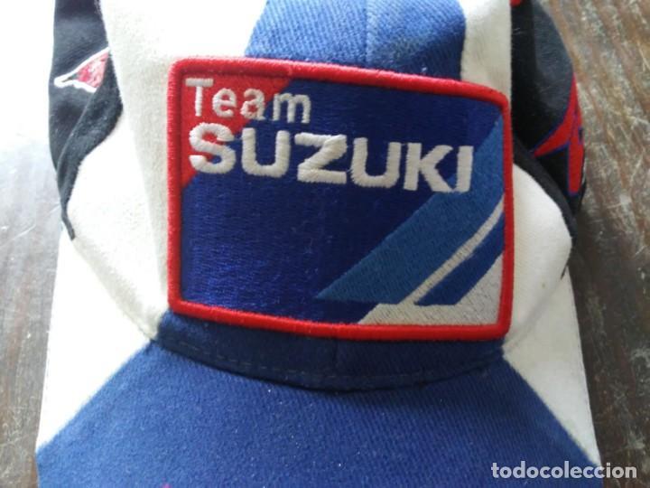 Coches y Motocicletas: Gorra Team Suzuki Moto GP - Foto 3 - 165714030