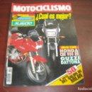 Coches y Motocicletas: REVISTA MOTOCICLISMO - AÑO 1991 - Nº 1241 - LAS 50 CC SALON MILAN - VER DETALLES. Lote 165746470