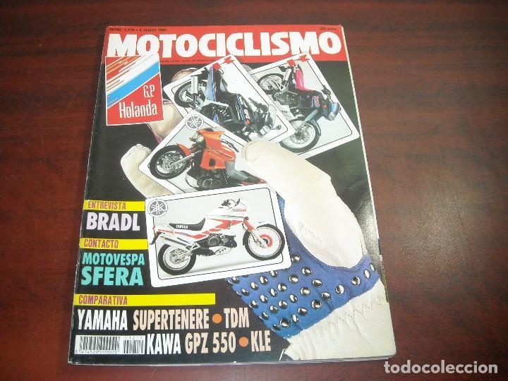 REVISTA MOTOCICLISMO - AÑO 1991 - Nº 1219 - BRADL -MOTOVESPA SFERA -GP HOLANDA- VER DETALLES (Coches y Motocicletas - Revistas de Motos y Motocicletas)
