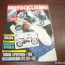 Coches y Motocicletas: REVISTA MOTOCICLISMO - AÑO 1991 - Nº 1219 - BRADL -MOTOVESPA SFERA -GP HOLANDA- VER DETALLES. Lote 165746626