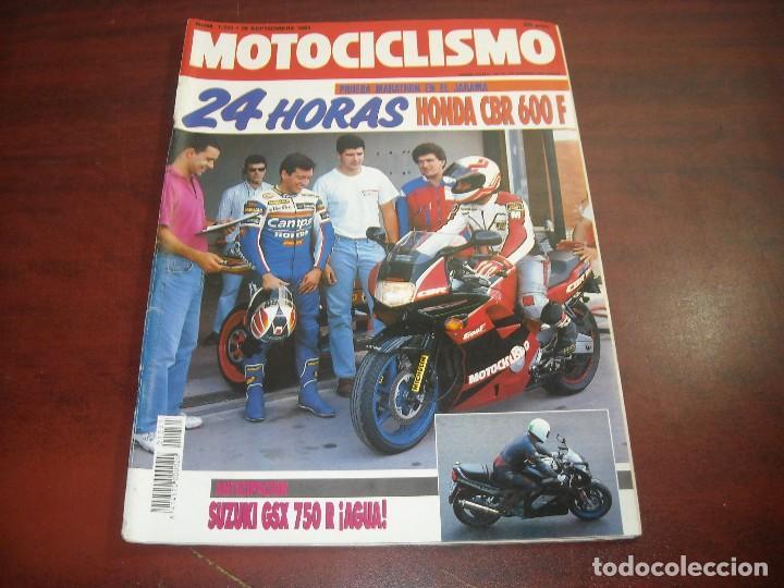 REVISTA MOTOCICLISMO - AÑO 1991 - Nº 1231 - ALEX CREVILLE- VELOCIDAD EN ALBACETE- VER DETALLES (Coches y Motocicletas - Revistas de Motos y Motocicletas)