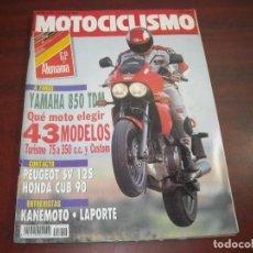 Coches y Motocicletas: REVISTA MOTOCICLISMO - AÑO 1991 - Nº 1214 -GP ALEMANIA- CANEMOTO-LAPORTE- VER DETALLES. Lote 165749462