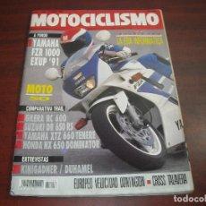 Coches y Motocicletas: REVISTA MOTOCICLISMO - AÑO 1991 - Nº 1206- KINIGADNER-DUHAMEL-CROSS TALAVERA- VER DETALLES. Lote 165750738