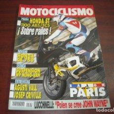 Coches y Motocicletas: REVISTA MOTOCICLISMO -AÑO 1991 - Nº 1242- SALON PARIS - AGUSTI VALL- JOSEP CREVILLE -VER DETALLES. Lote 165751390