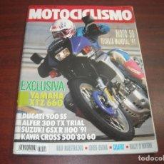 Coches y Motocicletas: REVISTA MOTOCICLISMO -AÑO 1991 - Nº 1202- CROSS OSUNA- RAID MAESTRAZGO -VER DETALLES. Lote 165751578