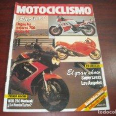 Coches y Motocicletas: REVISTA MOTOCICLISMO -AÑO 1987 - Nº 992- ENDURO DEL SEGRE-VELOCIDAD DE JEREZ-VER DETALLES. Lote 165758602