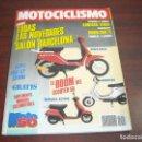 Coches y Motocicletas: REVISTA MOTOCICLISMO -AÑO 1989 - Nº 1107- NOVEDADES SALON BRCELONA -VER DETALLES. Lote 165771106