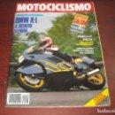 Coches y Motocicletas: REVISTA MOTOCICLISMO -AÑO 1989 - Nº 1109- POSTER CARDUS - BMW K1 -VER DETALLES. Lote 165771314