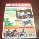 Coches y Motocicletas: REVISTA MOTOCICLISMO -AÑO 1988 - Nº 1086- VER DETALLES. Lote 165776826