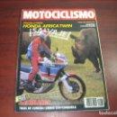Coches y Motocicletas: REVISTA MOTOCICLISMO -AÑO 1988 - Nº 1062- VER DETALLES. Lote 165777490