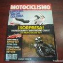 Coches y Motocicletas: REVISTA MOTOCICLISMO -AÑO 1988 - Nº 1076 - VER DETALLES. Lote 165778022