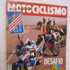 Automobili e Motociclette: MOTOCICLISMO REVISTA Nº 1209 ABRIL 1991 - DESAFIO RRR, OLIANA MUNDIAL DE ENDURO..... Lote 166444562