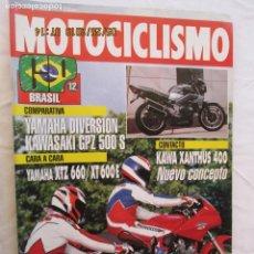 Automobili e Motociclette: MOTOCICLISMO REVISTA Nº 1279 AGOSTO 1992 - CARA A CARA YAMAHA XTZ 660/XT 600 E. . Lote 166446658