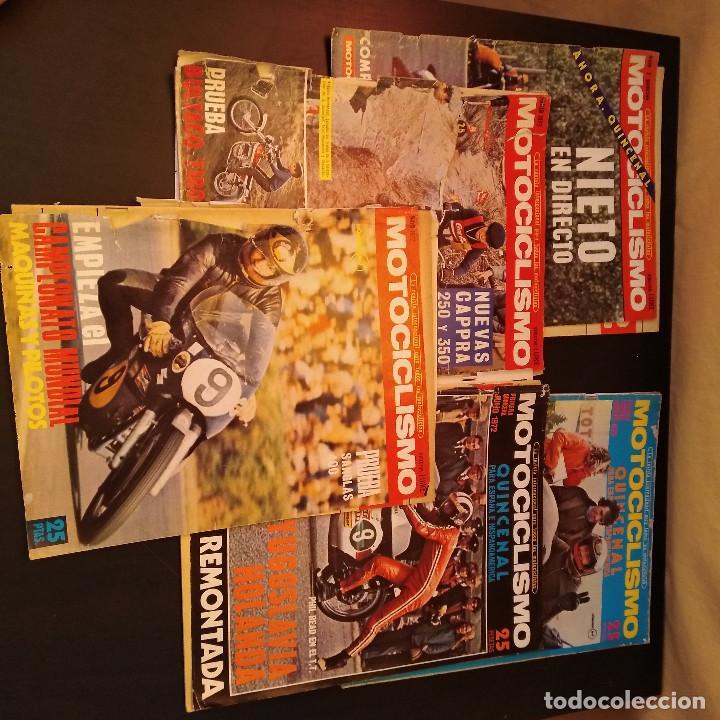 Coches y Motocicletas: Motociclismo - 5 Revistas - 1972 - Con pósters - Campeonatos - Quincenales - Raras - Foto 2 - 166452674
