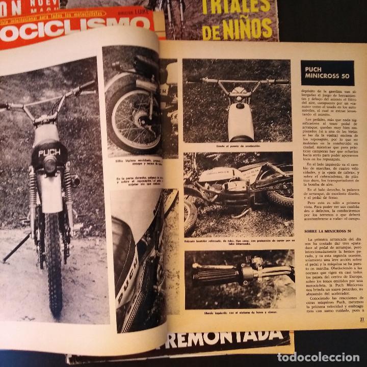 Coches y Motocicletas: Motociclismo - 5 Revistas - 1972 - Con pósters - Campeonatos - Quincenales - Raras - Foto 4 - 166452674