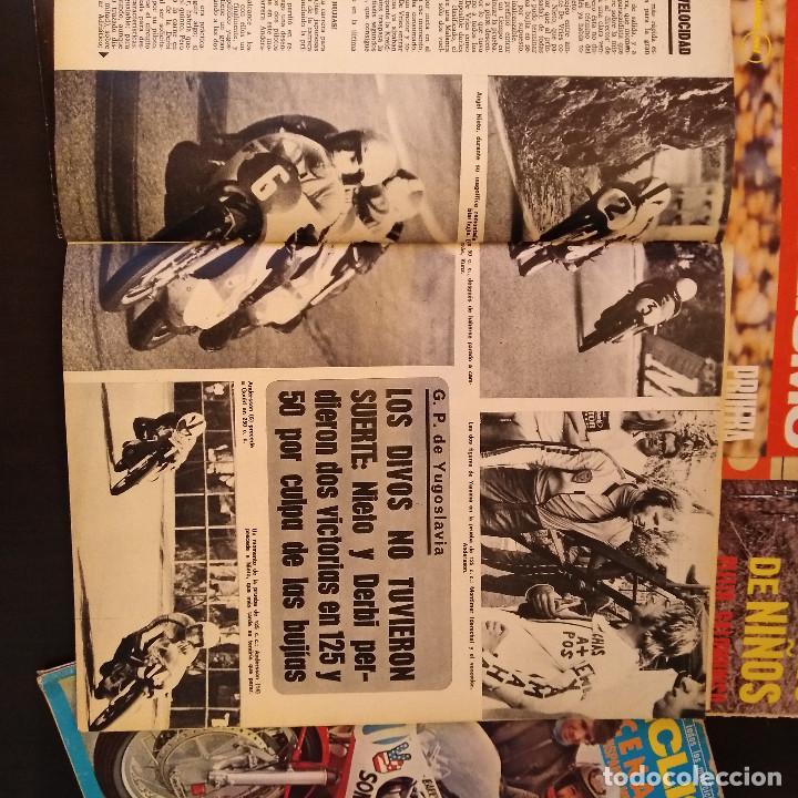 Coches y Motocicletas: Motociclismo - 5 Revistas - 1972 - Con pósters - Campeonatos - Quincenales - Raras - Foto 7 - 166452674