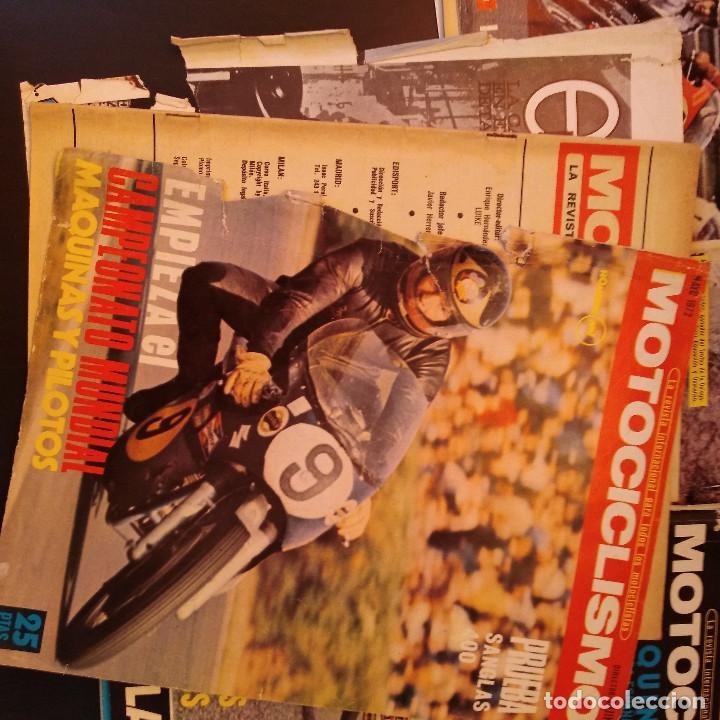Coches y Motocicletas: Motociclismo - 5 Revistas - 1972 - Con pósters - Campeonatos - Quincenales - Raras - Foto 8 - 166452674