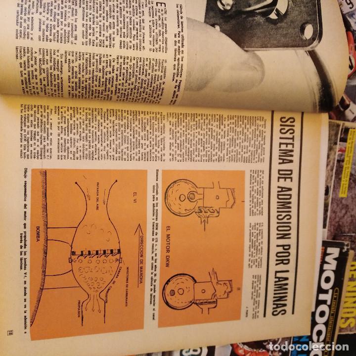 Coches y Motocicletas: Motociclismo - 5 Revistas - 1972 - Con pósters - Campeonatos - Quincenales - Raras - Foto 10 - 166452674