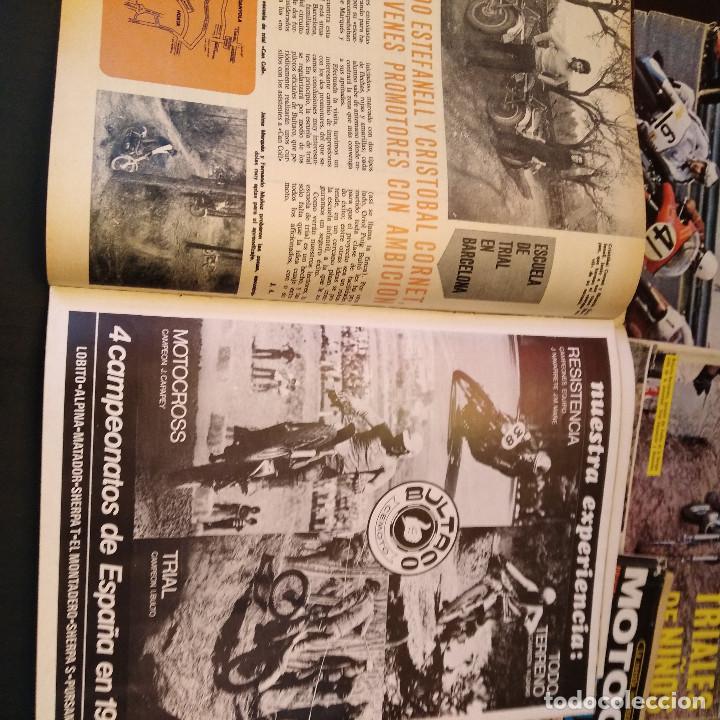 Coches y Motocicletas: Motociclismo - 5 Revistas - 1972 - Con pósters - Campeonatos - Quincenales - Raras - Foto 11 - 166452674