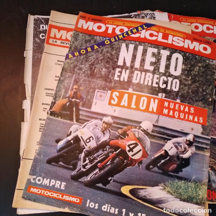 Coches y Motocicletas: Motociclismo - 5 Revistas - 1972 - Con pósters - Campeonatos - Quincenales - Raras - Foto 16 - 166452674