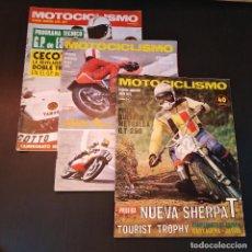 Coches y Motocicletas: MOTOCICLISMO - 3 REVISTAS - 1975 - QUINCENALES - REVISTA - JARAMA GRAN PREMIO - BULTACO. Lote 166454410