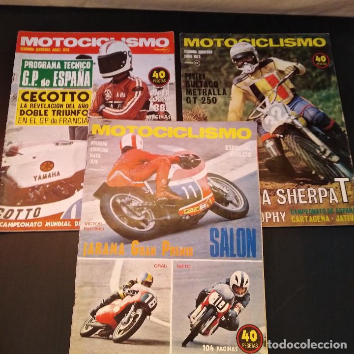 Coches y Motocicletas: Motociclismo - 3 Revistas - 1975 - Quincenales - Revista - Jarama Gran Premio - Bultaco - Foto 6 - 166454410